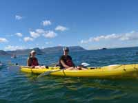 Sea-kayaking in False Bay